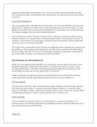 writing cover letters for resumes write cover letter resume  writing cover letters for resumes 8 adding a well written cover letter resumes and cover letters writing cover letters