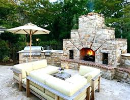 How To Build An Outdoor Brick Fireplace Brick Grill Designs Fabulous