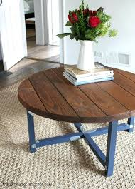 homemade coffee table plans projects round coffee table my letter diy wood coffee table plans