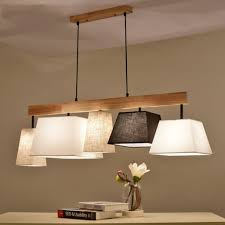 5 Modern Deckenlampe Holz Pendelleuchte Esstisch Deckenleuchte