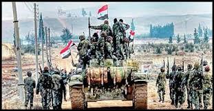 Image result for ارتش سوریه شهر المیادین را به طور کامل آزاد کرد
