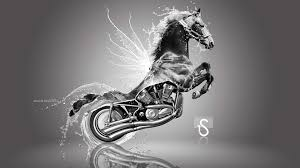 harley davidson fantasy water horse