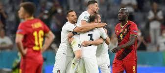 เบลเยียม v อิตาลี ผลบอลสด ผลบอล ยูโร 2020