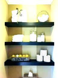 thick wood floating shelves reclaimed long dark brown shelf shelv