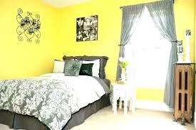 yellow grey bedroom ideas usefull