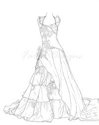 Will your children choose to give her a white dress or kids can use this printable page full of wedding cake decorations to colour, cut out and stick on to. Wedding Dress Coloring Pages For Girls Coloring Pages For Girls Barbie Coloring Pages Colorful Fashion