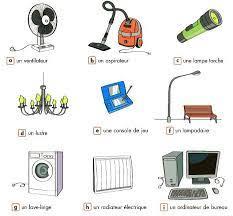 2. Des objets qui fonctionnent à l'électricité * À quoi sais-tu qu'un objet  est électrique ?