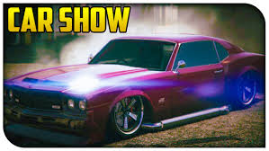 Gta Online Muscle Car Showcase Stream Highlights Gta V