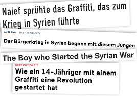 Die Legende Des Jungen Der Angeblich Den Krieg In Syrien Auslöste