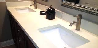 types of bathroom countertops pros and cons of diffe bathroom materials types of bathroom countertops