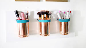 10 Easy DIY Ways to Store Your Makeup and Declutter Your Life