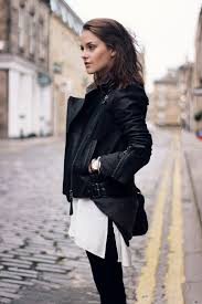 madewell motorcycle jacket 116 best girls in leather jackets images on black