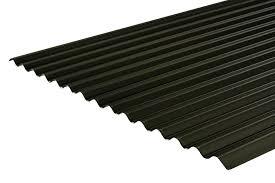 plastic coated corrugated roofing sheet 13 3 0 5mm 0 7mm pvc plastisol coating roofing mega