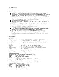 Best Solutions Of Sap Resumes Fico Clever Design Sap Hana Resume 9