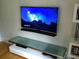 tv wall mount sound bar best wall mount for curved curved and soundbar tilt wall mount