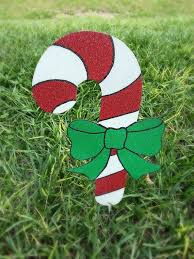 Outdoor Christmas Candy Cane Decorations 60 Candy Cane Yard Decorations Holiday Yard Art Candy Cane 59