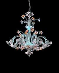 zspmed of murano glass chandelier nice for small home decor