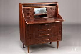 lovable danish secretary desk danish modern rosewood secretary desk mid century mobler