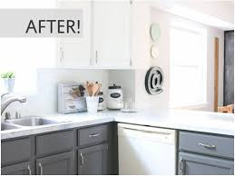 image of painted kitchen cabinets before and after wood amazing kitchen cabinet ideas live life