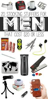 20 Stocking Stuffers for Men that Cost $20 or less...so many great