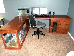 office desk aquarium. Office Desk Fish Tank Aquarium Design Furniture Close To Me Plants Modern .