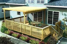 covered patio deck designs. Simple Deck Ideas Exteriors Small Backyard Patio Designs With Curved Covered