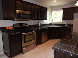 custom black kitchen cabinets. Full Size Of Brown Wooden Glass Open Cabinet Simple Clear Custom Design Backsplash Ideas Functioning Triple Black Kitchen Cabinets T