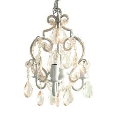 chandeliers tadpoles 3 light white diamond mini chandelier cchapl010 the home depot small plug in
