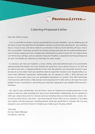 Pin By Proposal Letter Samples Usa On Catering Proposal Letter