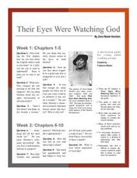 zora neale hurston their eyes were watching god acirc seraphic group discussion guide their eyes were watching god by zora neale hurston