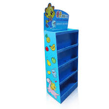 Cardboard Book Display Stands Toys Point of Purchase Advertising Display Shelf 89