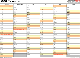 microsoft excel calendar 2016 calendar download 16 free printable excel templates xlsx