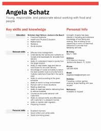 First Time Resume With No Experience Samples Gorgeous Resume For High School Student With No Experience Lovely First Time