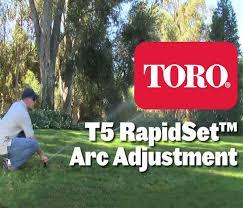 T5 Rapidset Series Rotors Toro