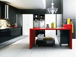 Red And Black Kitchen How To Design Beautiful Small Kitchens Kitchen Designs