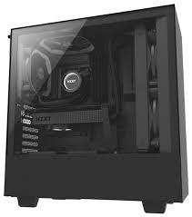 <b>Компьютерный корпус NZXT H500</b> Black — купить по выгодной ...