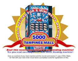 Mini Melts Vending Machine Extraordinary Vending Machine
