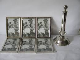 large silver plated picture carousel for 12 pictures