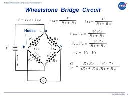 drawing of an electrical circuit showing the wheatstone bridge circuit electrical circuits are used throughout aerospace engineering