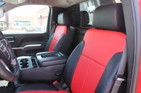 2012 Chevrolet Silverado Seat Covers - Velcromag