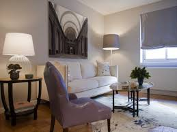 Painting Living Room Gray Light Grey Purple Paint
