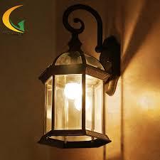 cheap outdoor lighting fixtures. Vanilla Continental Waterproof Outdoor Wall Lamp Vintage Lights Garden Balcony Light Cheap Lighting Fixtures C