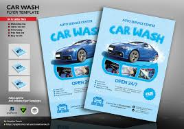 Car Wash Flyer Template Car Wash Flyer Template By CreativeTouch GraphicRiver 4