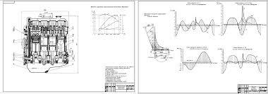 Курсовые и дипломные работы автомобили расчет устройство  Курсовая работа ДВС Восьмицилиндровый рядный бензиновый двигатель номинальной мощностью 200 кВт