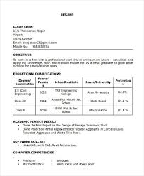 40 Best Fresher Resume Templates PDF DOC Free Premium Templates Beauteous Resume Of Civil Engineer Fresher