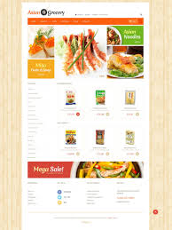 Grocery Shopping Template Grocery Store Templates TemplateMonster 6