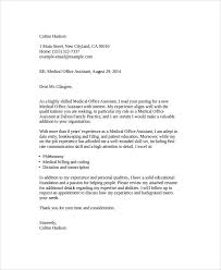 7 Cover Letter Medical Assistant Sample Templates