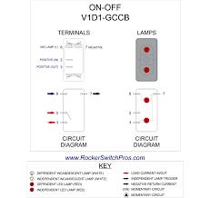 Led rocker switch wiring diagram