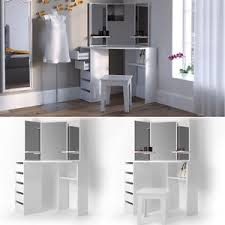 Image is loading vanity-dresser-dressing-table-vanity-dresser-cosmetic-table -