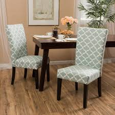 fabric dining room chairs with oak legh fabric dining room chairs christopher knight home aurora fabric geometric print dining chair set of 2 a chair can